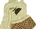 Pijama fem. Adoro Chocolate