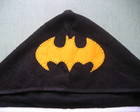 TOALHA COM CAPUZ E CORDO DO BATMAN