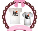 Camisetas Eu Amo Mame e Filha
