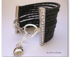 Bracelete Dafnne Luxo in Silver