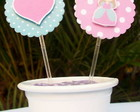 Toppers para cupcake Princesas