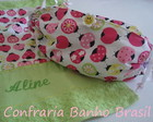 Necessaire personalizada joaninha