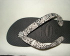 Chinela Havaiana CustomizadaVENDIDO