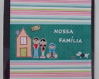 lbum Scrapbook Famlia