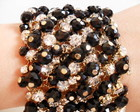 Bracelete Cristal Black