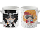 Caneca Axl Rose e Slash