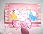 Caderno de assinaturas Princesas PopUp