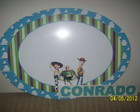 Placa PVC Toy Story