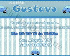 Arte Convite Gustavo