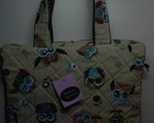 BOLSA, CASE PARA NOTEBOOK CORUJAS