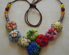 Colar &quot;Mex Flores&quot;