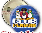 BOTON 2,5cm CLUB PENGUIN