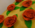 Forma para doces Rosa Vermelha