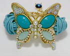 Bracelete Borboleta Azul