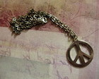 "Colar ""Peace and Love"""