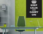 Adesivo Keep Calm and Carry On