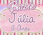 Rotulo Papinha Barbie