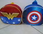 Mochila Mulher Maravilha/Capito Amrica