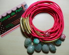 Pulseira Pink Pedras