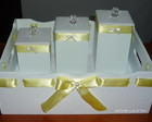 Kit Higiene Luxo Amarelo