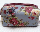 "Necessaire ""Purple flowers"""