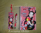 Minnie Caderno de Assinatura