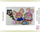 Kit de Aplic pintura &quot;Rabbits Valentine&quot;