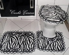 CONJUNTO BANHEIRO - ANIMAL PRINT
