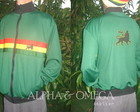 Jaqueta Reggae New Roots VERDE