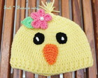 Gorro Pintinho Girl