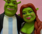 Noivinhos Personalizados Shrek e Fiona
