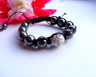 &#9829;FRETE GRTIS&#9829; Pulseira Shamballa