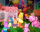 DECORA��O DE FESTA INFANTIL BACKYARDIGAN