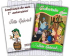 Revista para colorir Turma do Chaves