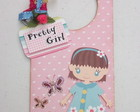 "Door Hanger ""Pretty Girl"""