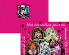Convite Monster High