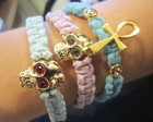 Pulseiras candy colors