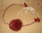 Headband Wine Rose