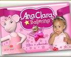 Adesivo vinil - Angelina Ballerina 10x15