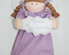 Boneca Anjinha da Guarda Personalizada