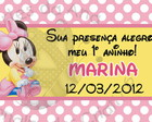 Minnie Baby Tag