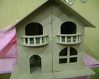 CASINHA DE BONECAS EM MDF SEM PINTURA