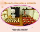 Chocolate com tema japons