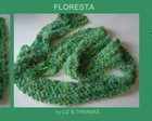 Cachecol-Strip: FLORESTA - CTs-012