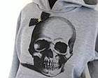 Moletom Skull Bow