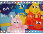 "Kit Fantoches dos ""Backyardigans"""