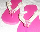 Chinelo Bordado Pink