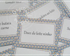 Cardpios para Mesa