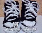 Tenis All Star Croche
