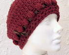 Gorro em Croch Bord